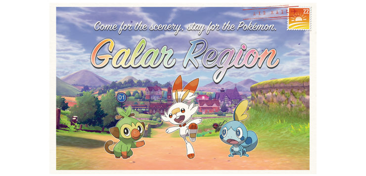 Nintendo Hosting Pop-Up Galarian Tourism Centers