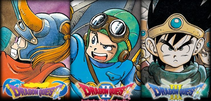 Dragon Quest I, II, and III Pre-orders Open At Play-Asia